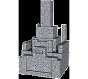 標準和型(1.0m2)石種:白御影(新小目)