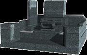 高級洋型(4.0m2)石種:万年青