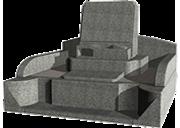 オリジナルデザイン(4.0m2)石種:フィンランド・グリーン